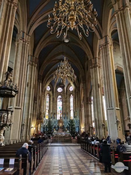 Kronleuchter Zagreb Kathedrale