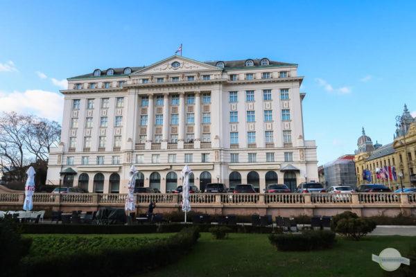 Hotel Esplanade Zagreb von außen