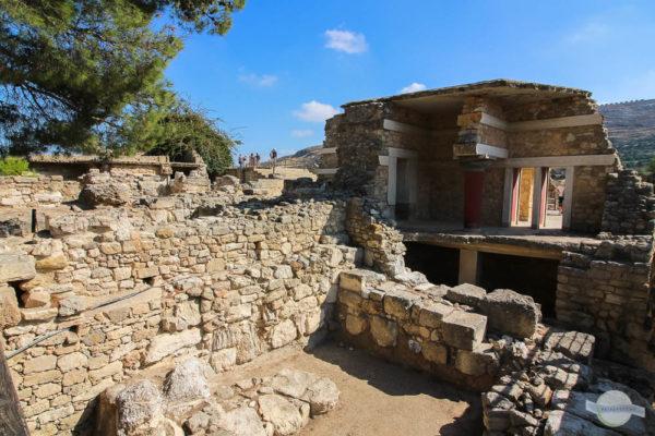 Ruinen von Knossos auf Kreta