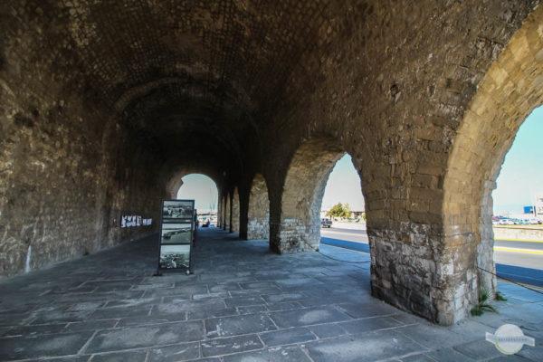 Spaziergang durch die Festungsmauer in Heraklion