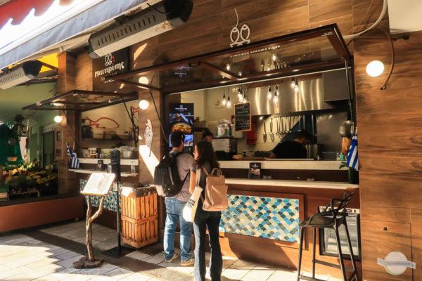 Fisch Fast Food bei Bitirinis in Heraklion