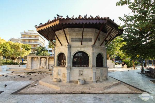 Zwei Brunnen in Heraklion auf Kreta