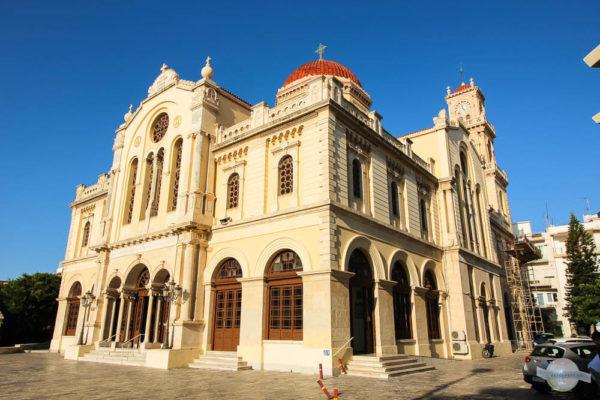 Kirche in Heraklion: große Minaskirche