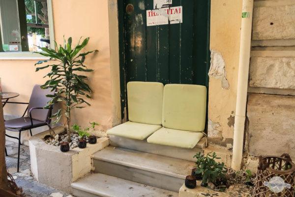 Schönes Cafe in Heraklion auf Kreta