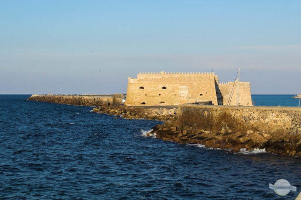 Festung im Hafen von Heraklion Kreta