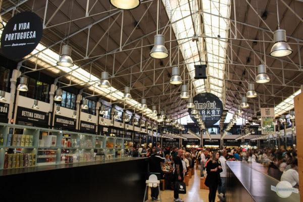 Time Out Market in Lissabon bei einem Stopover besuchen
