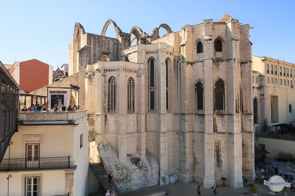 Convento do Carmo: perfekt für deinen Lissabon Stopover