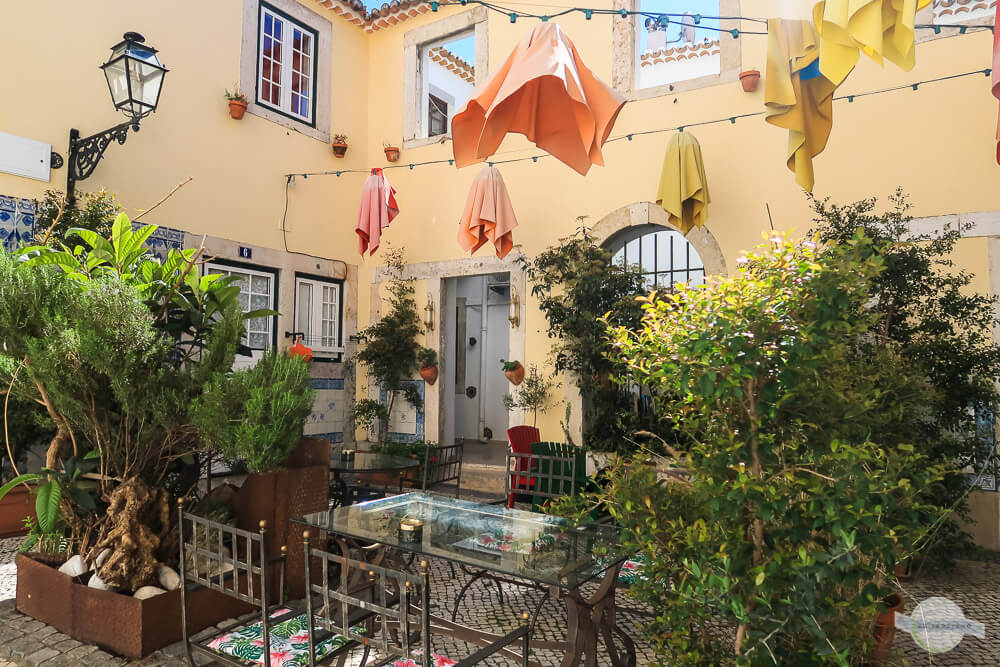 B&B Palacio Vila Flor in Lissabon mit schönem Innenhof