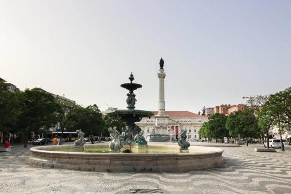 Rossio besichtigen in Lissabon an einem Tag
