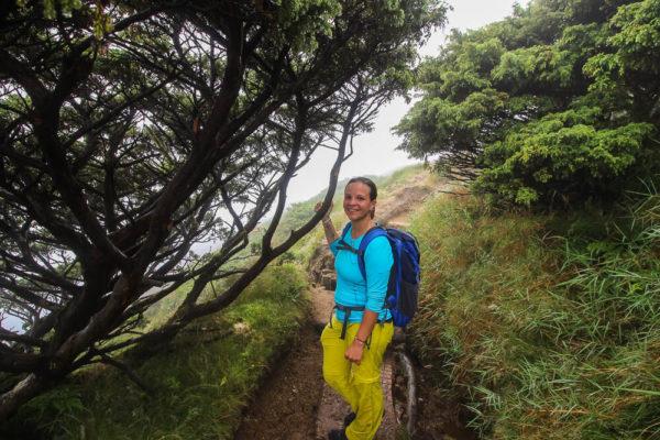 Wanderung am Pico da Vara in Multifunktionskleidung