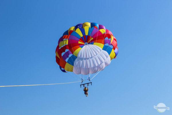 Paragliden auf Kreta