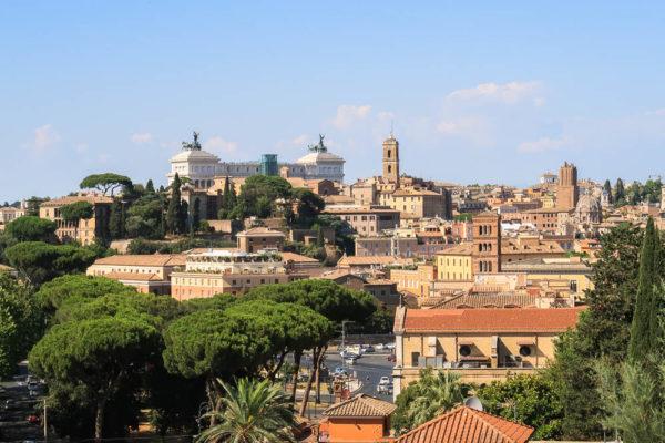 Rom Aussicht vom Avetin