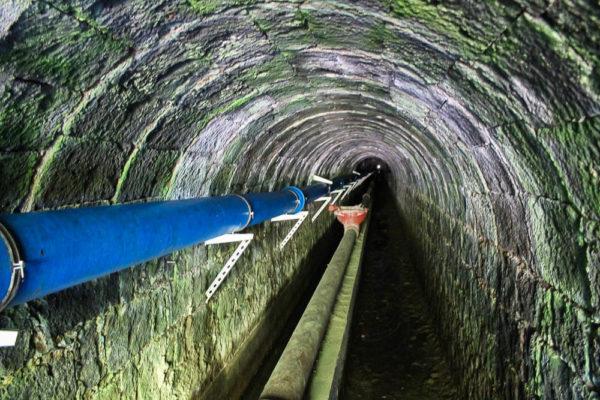 Tunnel auf Sao Miguel