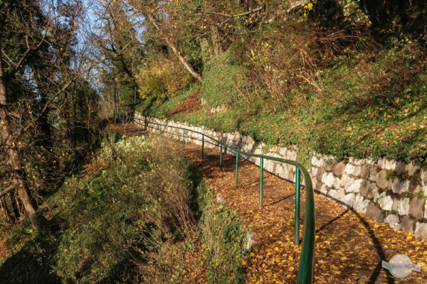 Wege auf den Schloßberg in Graz