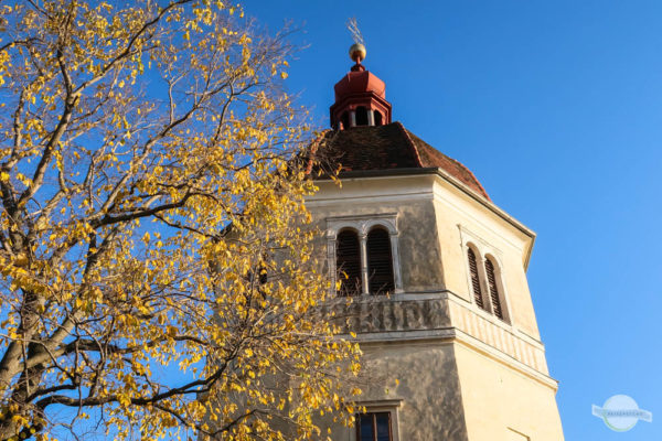Glockenturm Graz im Herbst
