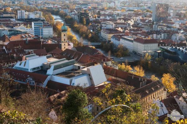 Graz im Herbst