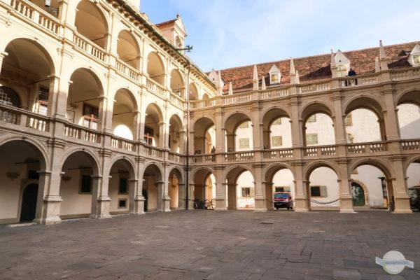 Arkadenhof in Graz: der Landhaushof