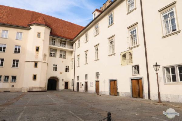 Der erste Innenhof der Grazer Burg