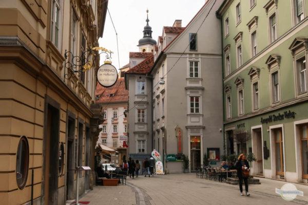 Die Hofgasse in Graz