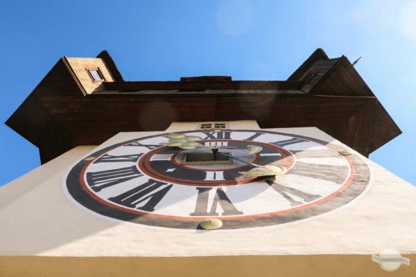 Uhrturm Froschperspektive