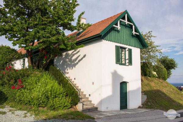Kleines Haus in den Weinbergen
