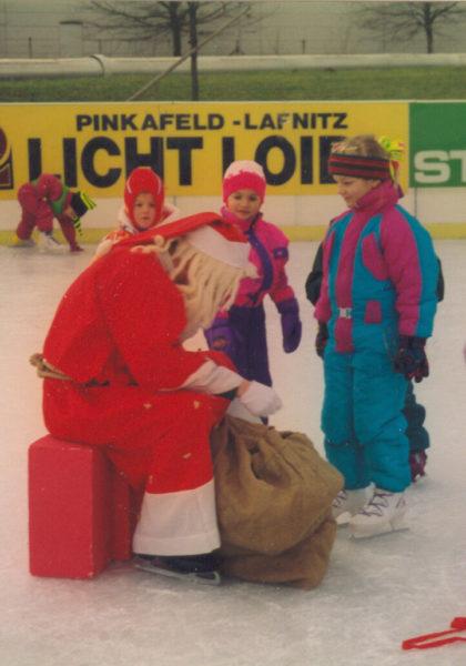 Nikolaus am Eislaufplatz