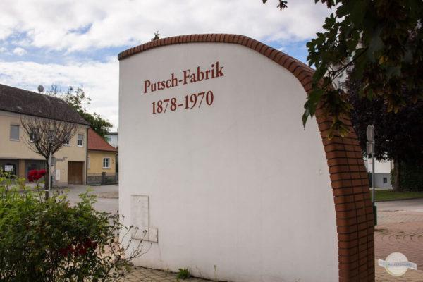 Denkmal Putschfabrik in Pinkafeld