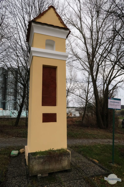 Schlachtenkreuz in Pinkafeld im Lamplfeld