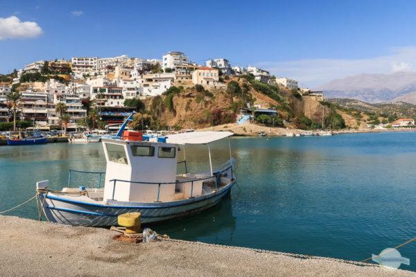 Am Hafen von Agia Galini