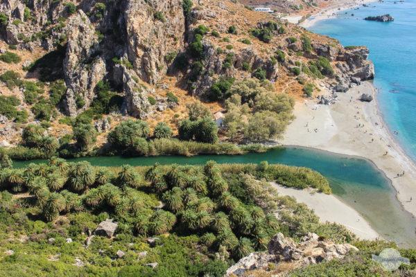 Palmenstrand Preveli auf Kreta