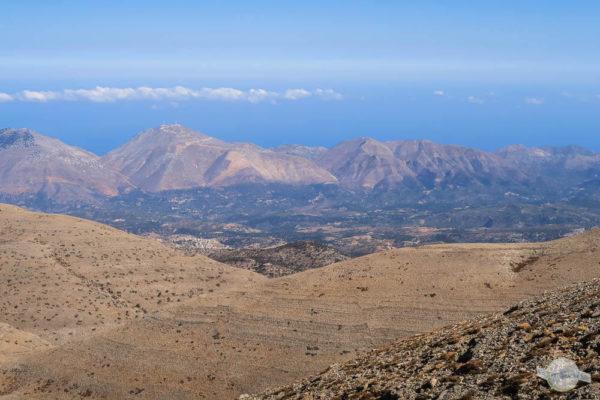 Ausblick vom Ida-Gebirge