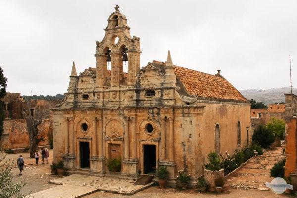 Arkadi Kloster auf Kreta