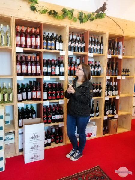 Wein trinken in Österreich