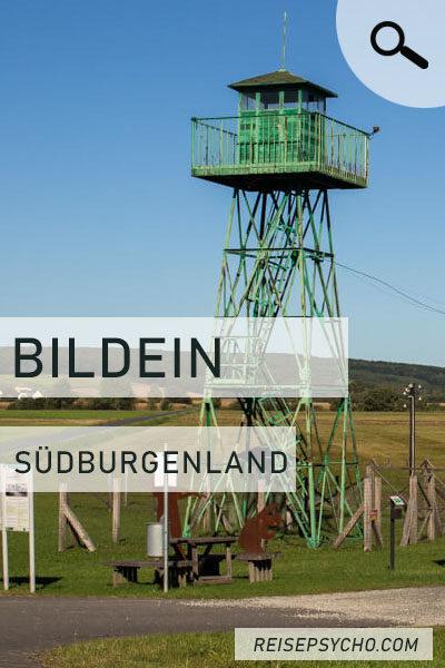"""Pin """"Bildein - das Dorf ohne Grenzen"""""""