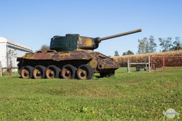 Panzer in Bildein