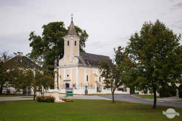 Kirche und Dorfzentrum Bildein