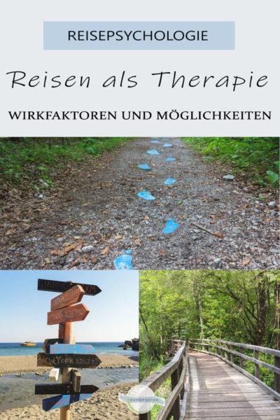 Reisen als Therapie - Pin