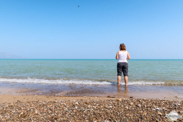 Aufs Meer schauen und den Wellen lauschen