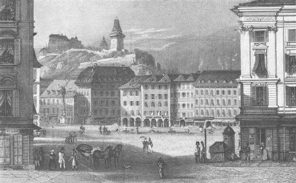 Conrad Kreuzer Hauptwachplatz Graz