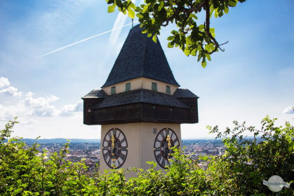 Der Schloßberg in Graz - Uhrturm