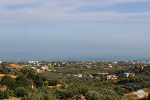 Ausblick auf Nordküste Kreta