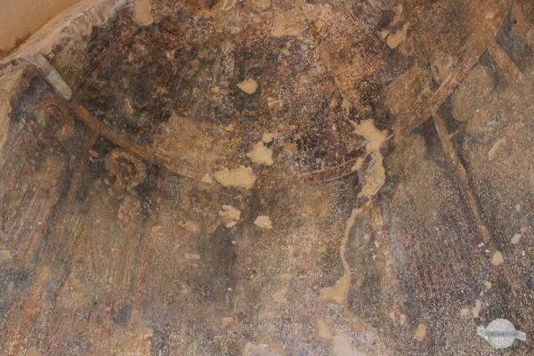 alte byzantinische Fresken