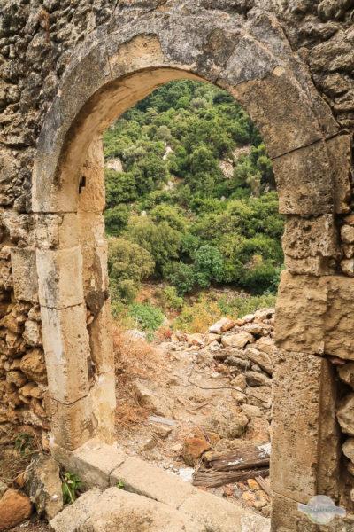 Steinernes Tor am Wanderweg