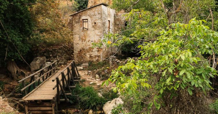Die Myli-Schlucht – das Tal der Mühlen auf Kreta