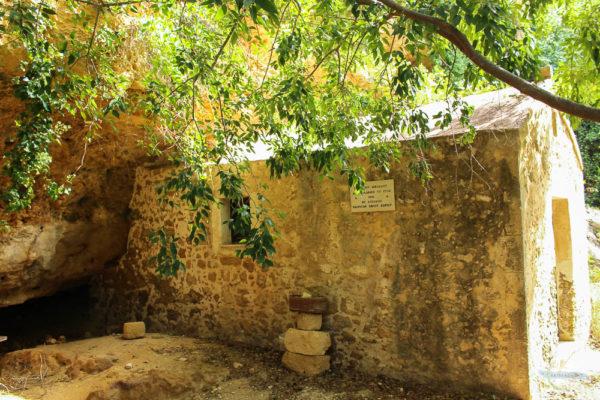Kirche Agios Nikolaos im Tal der Mühlen
