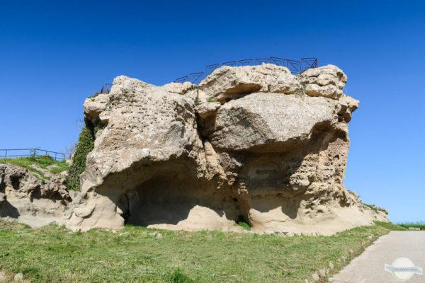 Rocca di Cerere - ein Heiligtum der Ceres