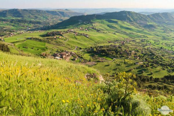 Landschaft Zentralsizilien