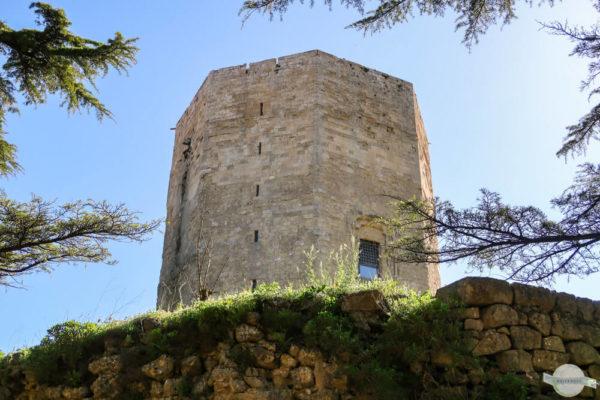 Torre Federico - achteckiger Stauferturm auf Sizilien