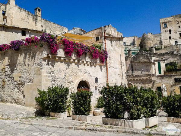 Wunderschöne Felsenstadt Matera
