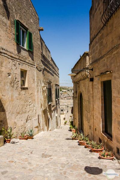 Stiegen und enge Gassen in Süditalien